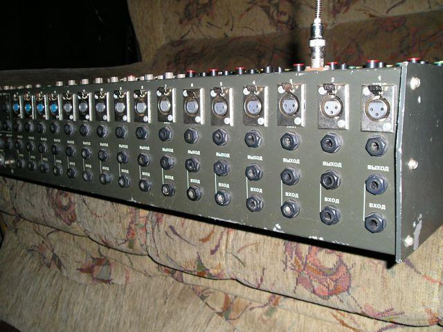 Микшерный пульт ПМ-03