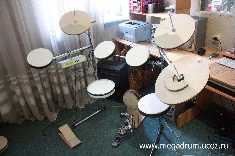 Тренировочный барабанный пэд своими руками 12
