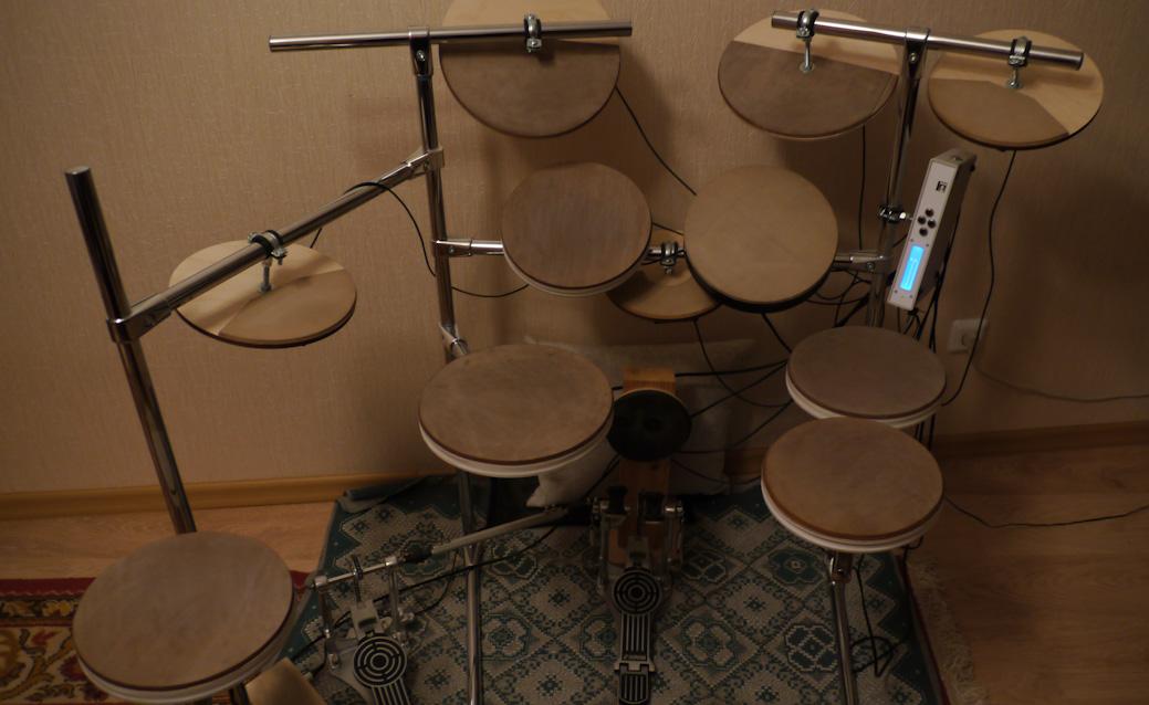 Электронный барабаны своими руками