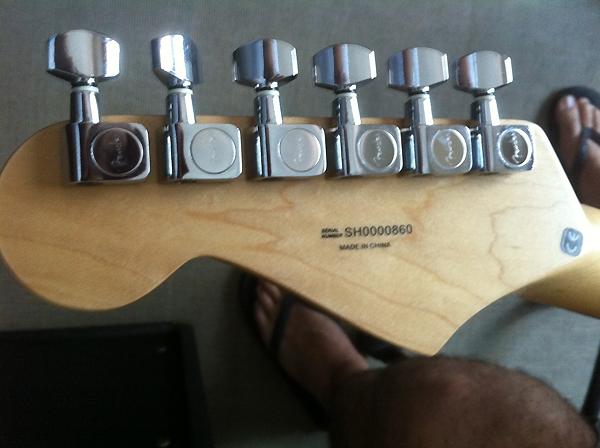 Fender China