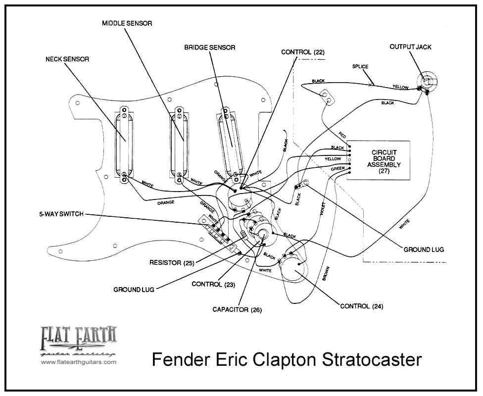 Wiring Diagram Fender Stratocaster - Merzie.net