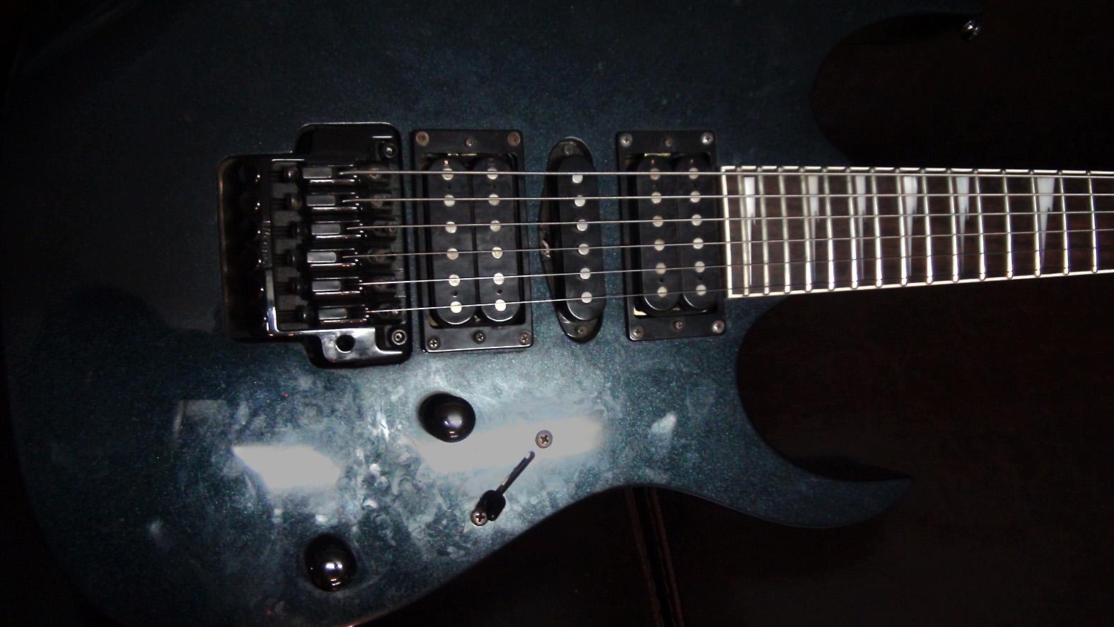 Ibanez rg series electric guitars airport music