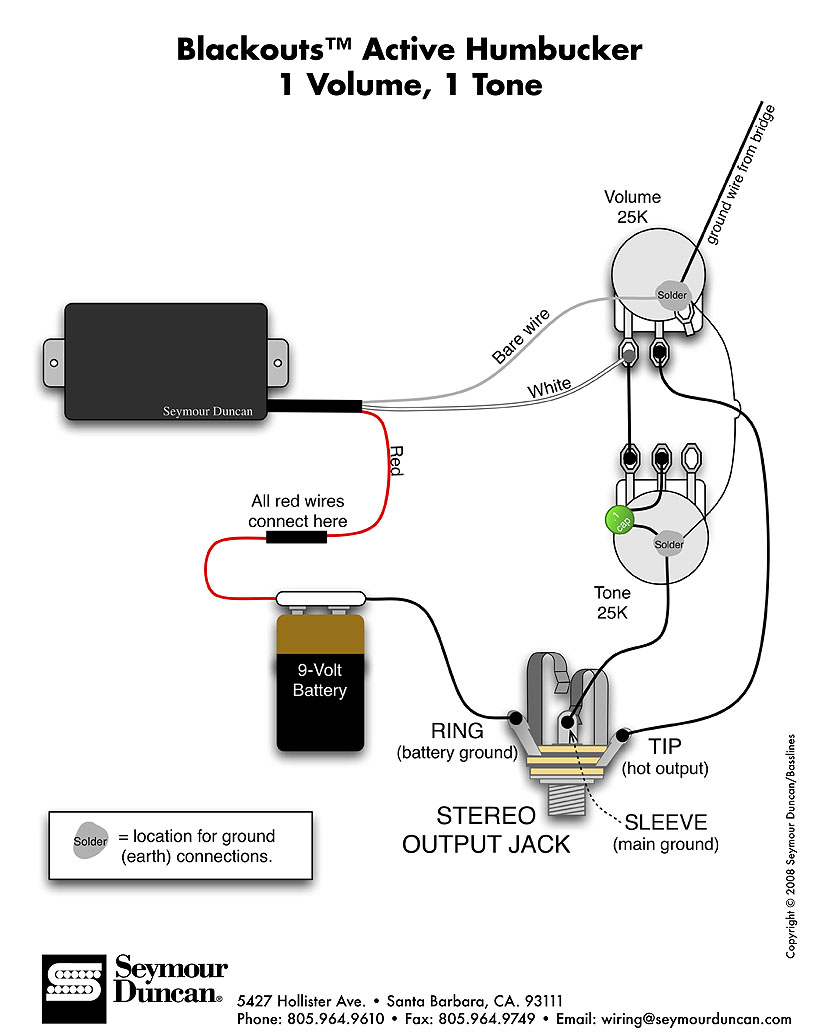 Emg Pickups Wiring Diagrams Honda Cb750 Wiring Diagrams