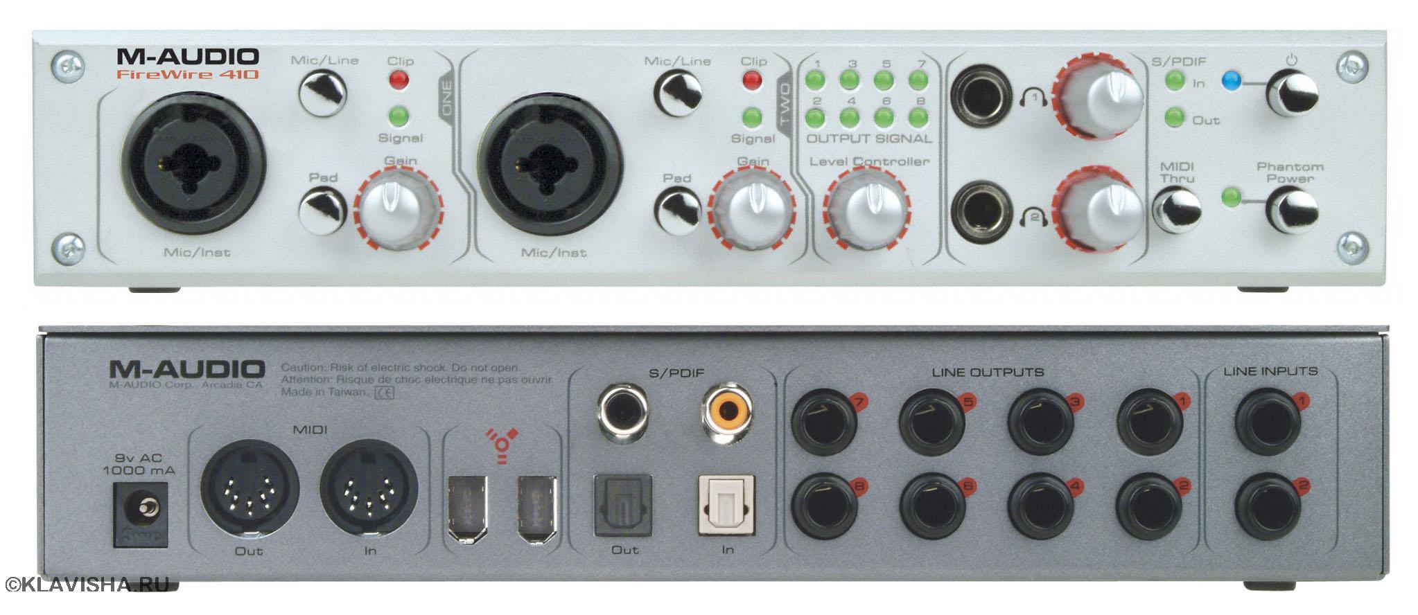 продам Внешняя звуковая карта M-Audio FireWire 410 - Куплю ...