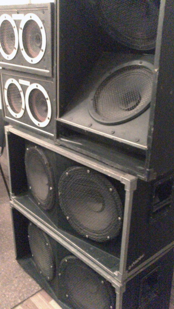 Концертные акустические системы своими руками