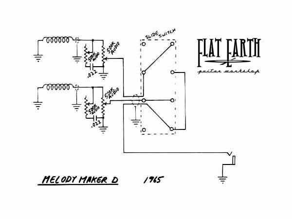 схема электрогитары gibson